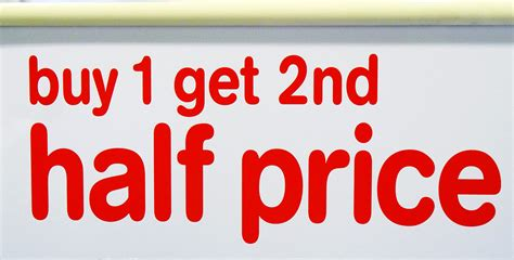 Buy One Get One Half Price But Be by Pricing Strategy The Sloman Economics News Site