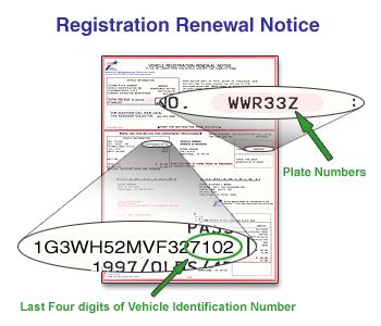 How To Get A New Registration Sticker