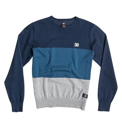 Sweater Dc Russelboro Crew Neck Sweater Edbsw03004 Dc Shoes