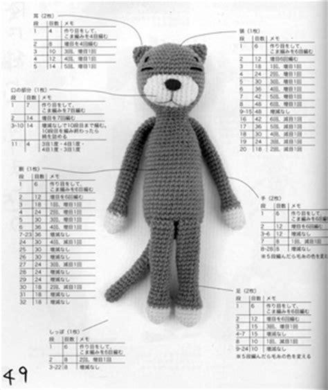 japanese amigurumi pattern translation sleepy cat amigurumi free crochet pattern toys softies
