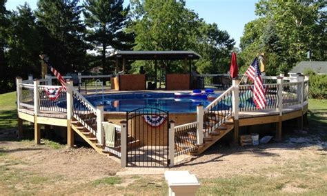 ground pool landscaping ideas
