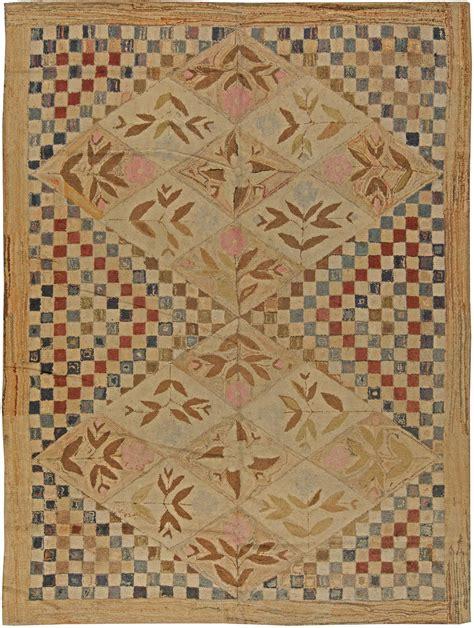 vintage hooked rug bb3025 by doris leslie blau