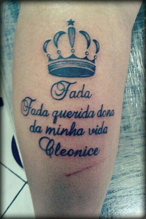 tattoo frase panturrilha tattoo pinterest tattoos
