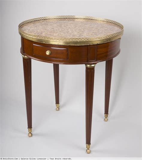 Louis Xvi Table by Table Bouillotte En Acajou D 233 Poque Louis Xvi Xviiie