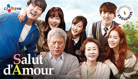 salut d amour film by exo chanyeol dramafever movie night salut d amour starring han ji min