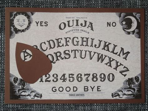 How To Make Ouija Board Out Of Paper - paper wool yarn decor ouija board