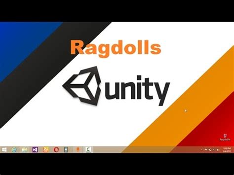 unity tutorial ragdoll unity 5 tutorial creating ragdoll physics on a rigged