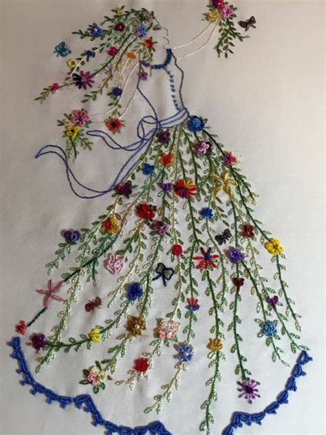 Handmade Embroidery - best 25 embroidery flowers ideas on