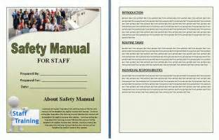 health safety manual template free manual templates
