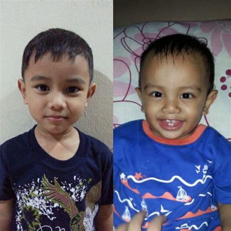 Lu Philips Anak ww55 rambut raya abang adik ceritera ibu