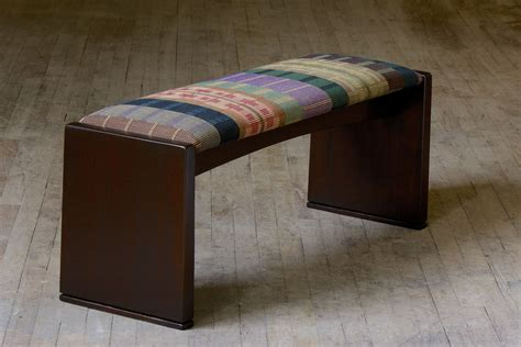 custom made bench buy a hand made upholstered bench made to order from richard helgeson custommade com
