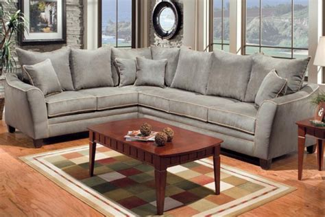 green microfiber sectional fitz green 2 piece microfiber sectional at gardner white