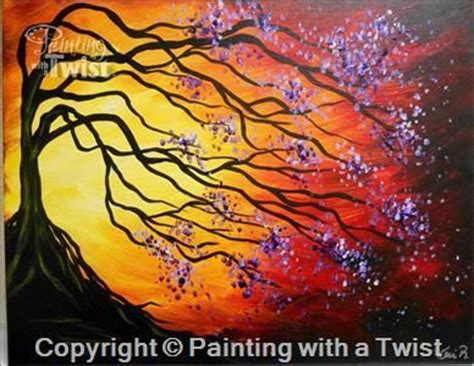 paint with a twist east 17 best images about upcoming classes on trees