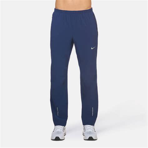 Nike Dri Fit Pant Blue shop blue nike dri fit stretch woven running pant for mens
