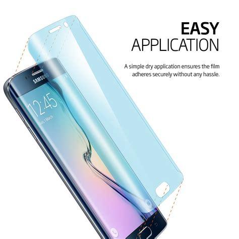 Screen Guard Samsung Galaxy S6 Edge Set Original Glare screen protector for samsung s6 edge