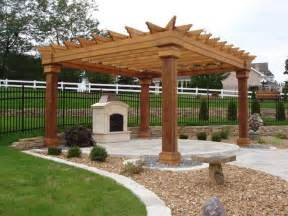 Pergola With Fireplace by Photo 587 Pergola And Fireplace The Pergola Over The
