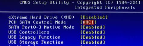 Pch Sata Control Mode - jak przełączyć tryb kontrolera ide na ahci po instalacji windowsa 8 lub 10