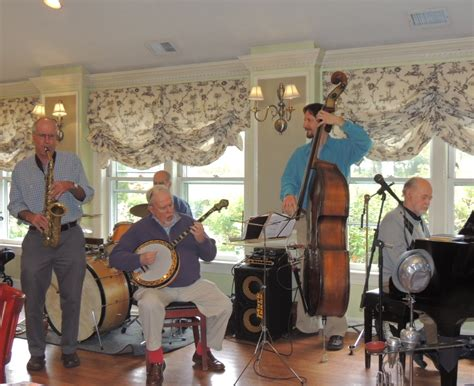 jazz band rhythm section new black eagle jazz band luncheon at sherborn inn