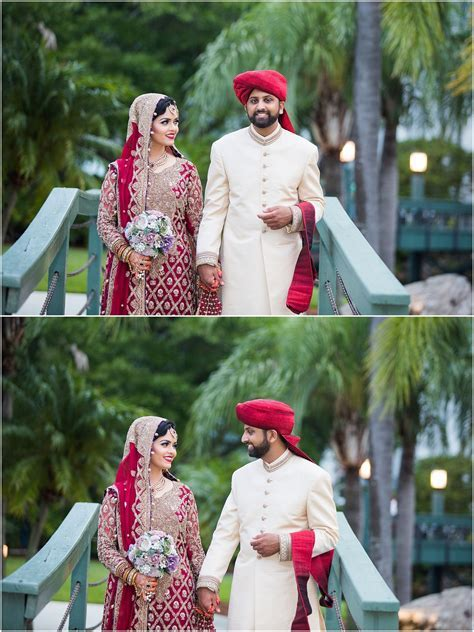 Pakistani couple poses   Indian Wedding Photographer www