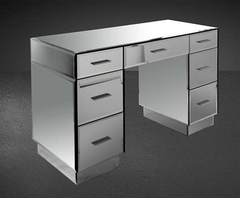 Modern Bedroom Vanities | gerona modern mirrored bedroom vanity