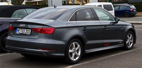 Audi A3 Limousine S Line by File Audi A3 Limousine 2 0 Tdi Ambiente S Line 8v