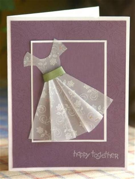 Vellum Paper Craft Ideas - 13 best images about dress card on