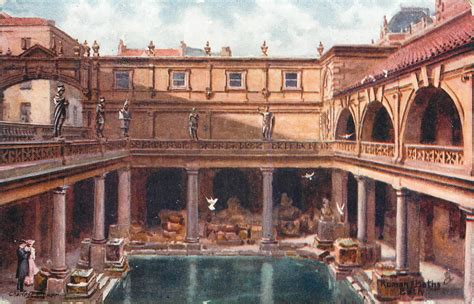 roman bath houses andrew simpson when in bath visit the roman baths i did and so did mr flower in 1902