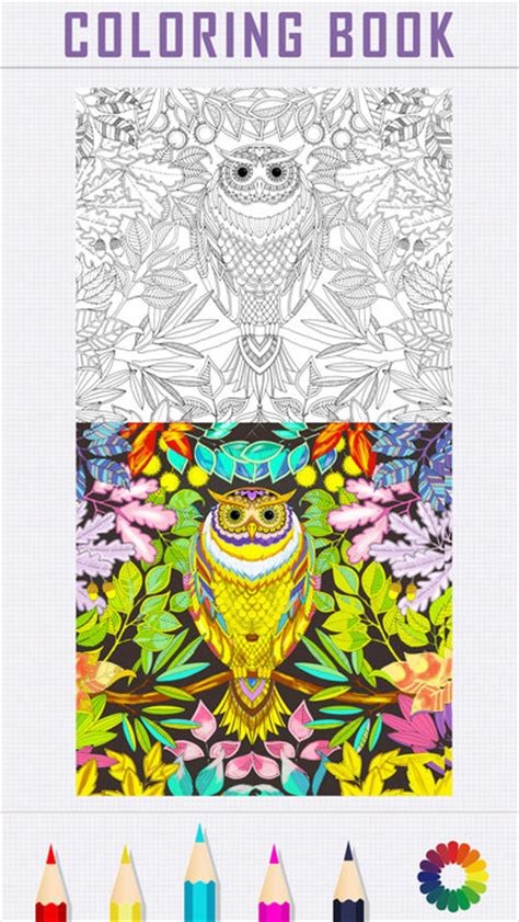 coloring books for adults app app shopper coloring book for adults color therapy