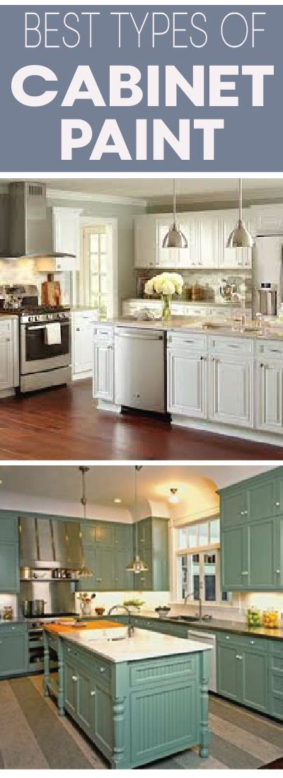 What Type Paint For Kitchen Cabinets Types Of Paint Best For Painting Kitchen Cabinets Painted Furniture Ideas