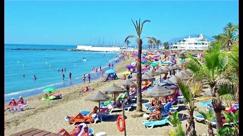best beach in marbella spain marbella beach best overview 2017 youtube