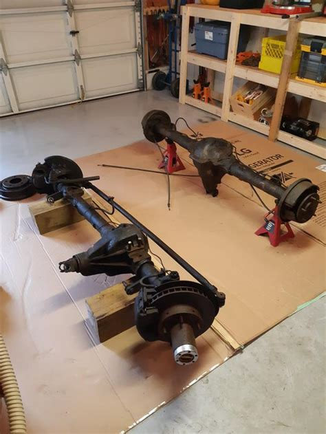 chrysler   rear axle dana  front axle malahat including shawnigan lake mill bay