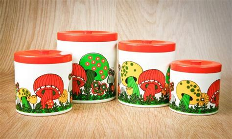 burnt orange west bend kitchen canisters by thewhitepepper 17 best images about vintage houseware on pinterest
