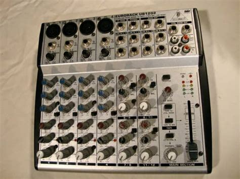 Mixer Behringer Ub1202 behringer eurorack ub1202 mixer with new power supply reverb