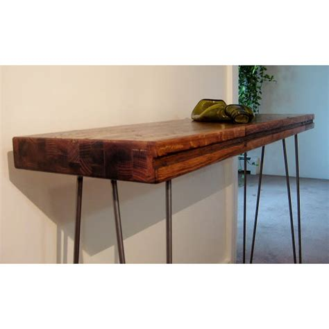 Industrial Side Table Charred Industrial Side Table By Boxcar Notonthehighstreet