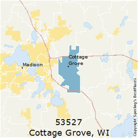 best places to live in cottage grove zip 53527 wisconsin