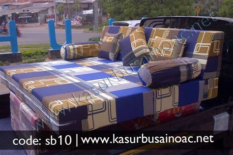 Sofa Warna Biru sofa bed warna biru jual kasur busa inoac
