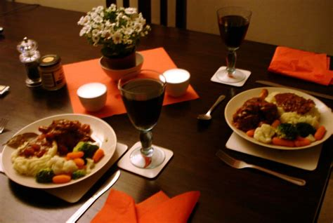 romantic dinner ideas for two at homewritings and papers