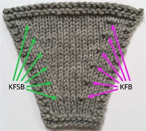 knitting increase stitches 25 best ideas about knit stitches on knitting
