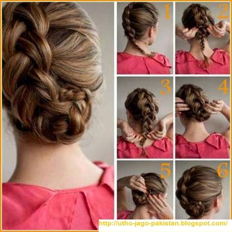 hair steila simpl is pakistan latest best quick and simple hair style pics tutorials
