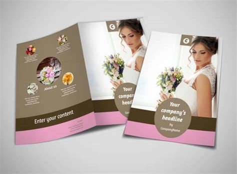 Wedding Brochure Bouquets by 10 Florist Brochure Printable Psd Ai Indesign Vector