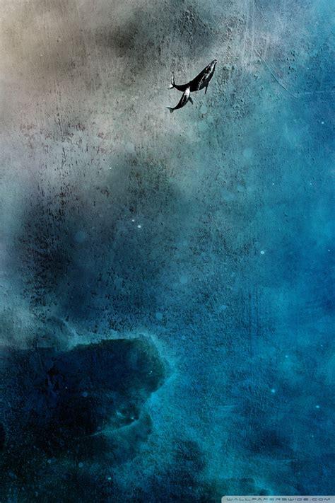whales  space  hd desktop wallpaper   ultra hd tv