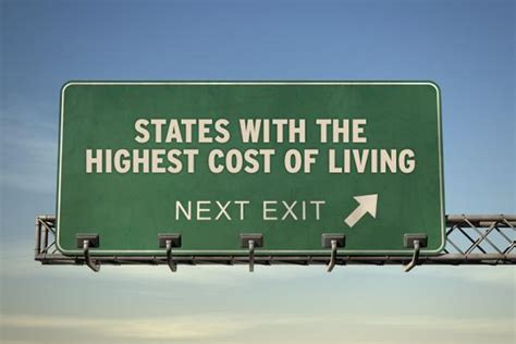 Business School Mba Cost Of Living by The Most Expensive States To Live In 2011