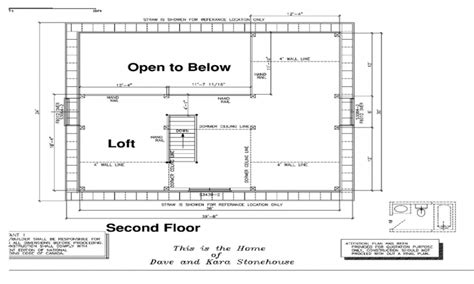 Modern Loft Style House Plans by Simple Loft House Plans Modern Loft Style House Plans