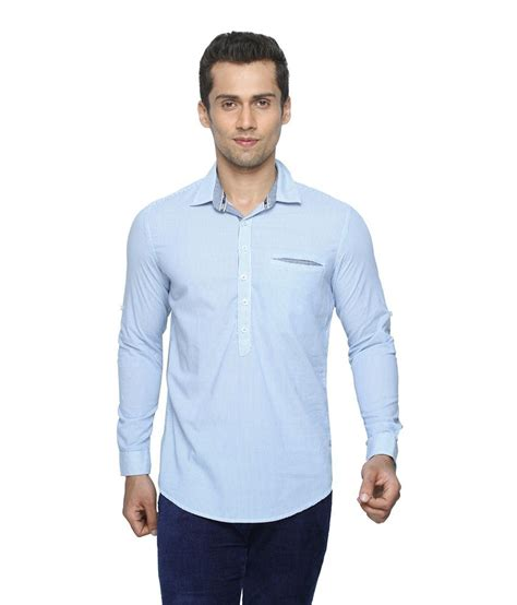 globus blue cotton knitted v globus blue sleeves cotton collar t shirt buy