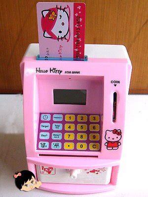 Mesin Atm Hello jual beli celengan atm mini hello mesin hitung
