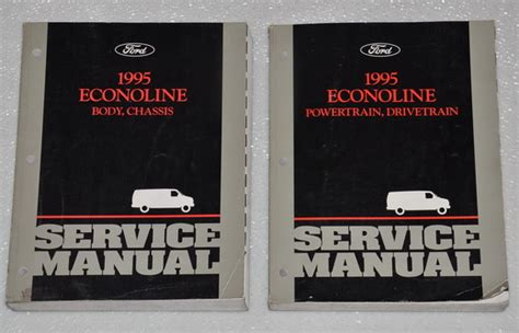free download parts manuals 1995 ford econoline e350 windshield wipe control 1995 ford econoline van wagon e150 e250 e350 factory shop service manual set factory repair