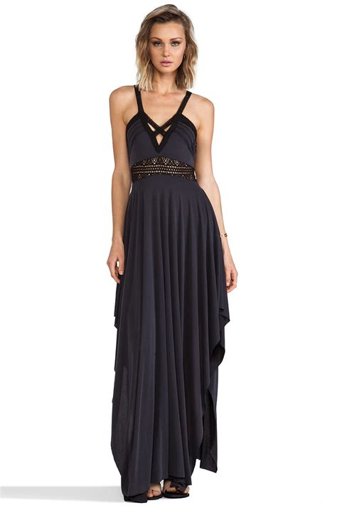Maxi Murah Dress Murah Dress lyst free bonitas back maxi dress in black