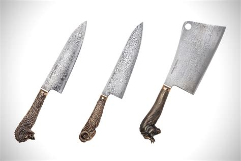 kitchen knives london stephen webster beasts knife set hiconsumption