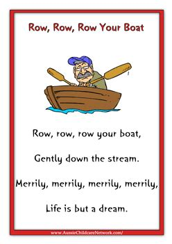 row row your boat lesson plan row row row your boat emb mother goose pinterest