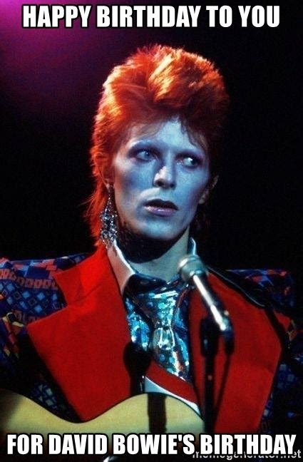 Bowie Meme - to you for david bowie 39 s birthday david bowie meme